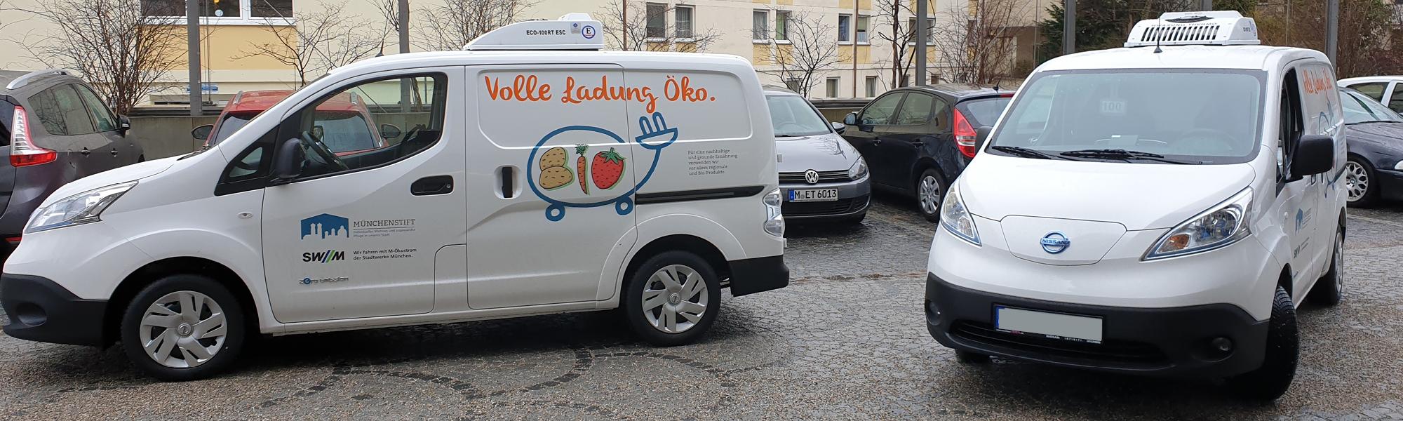 Erste E-Kühlautos bei der Münchenstift GmbH im Einsatz